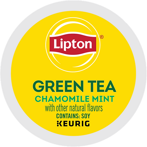 Lipton Soothe Green Tea with Chamomile and Mint - KCup® - Regular - K-Cup - 24ct