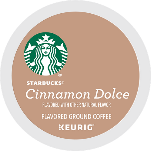 Starbucks® Cinnamon Dolce Coffee - K-Cup® - Regular - 16ct