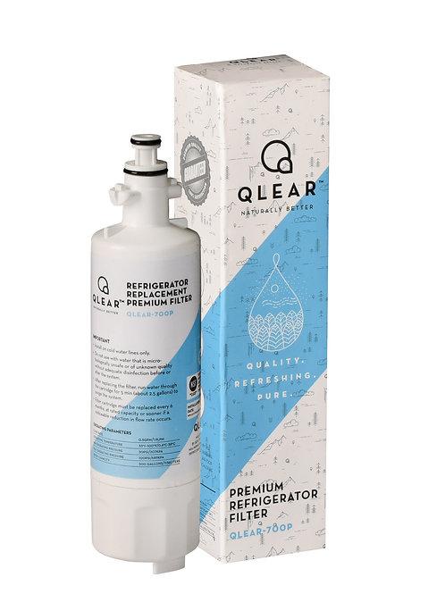 Qlear™ Premium Refrigerator Water Filter - For LG® LT700P / Kenmore® 9690