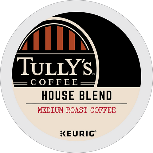 Tully's® House Blend Extra Bold Coffee - K-Cup® - Regular - Coffee - 24ct