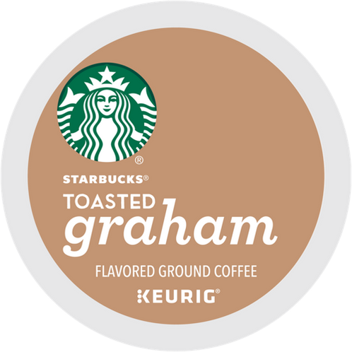 Starbucks® Toasted Graham Coffee - K-Cup® - Regular - Med Roast - 16ct