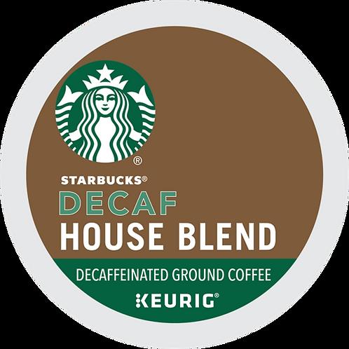 Starbucks® House Blend Decaf Coffee - K-Cup® - Decaf - Med Roast - 24ct