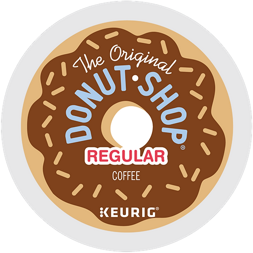The Original Donut Shop® Coffee - K-Cup® - Regular - Med Roast - 6ct