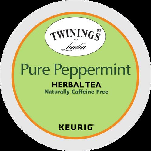 Twinings® Pure Peppermint Tea - K-Cup® - Decaf - Herbal Tea - 6ct