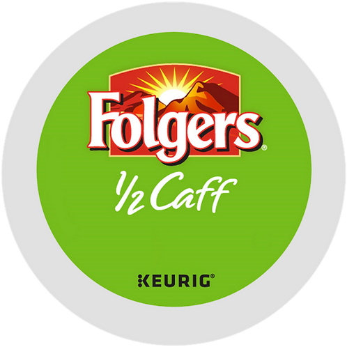 Folgers® 1/2 Caff Coffee - K-Cup® - Half Caff - Med Roast - 18ct