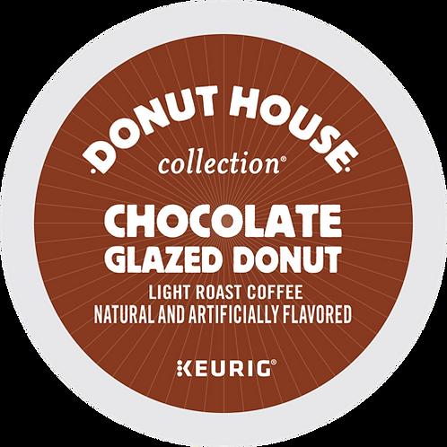 Donut House® Chocolate Glazed Donut Coffee - K-Cup® - Regular - LT Roast - 24ct