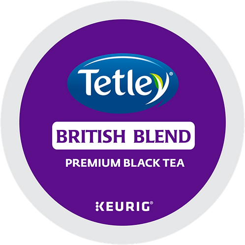 Tetley® Tea British Blend Tea - K-Cup® - Regular - Black Tea - 24ct