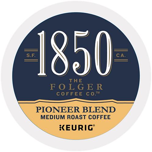 1850® Brand Coffee Pioneer Blend Coffee - K-Cup® - 16ct