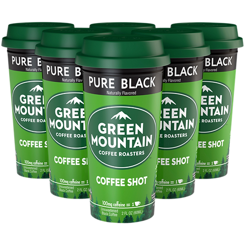 Green Mountain® Pure Black Coffee Shot - Coffee Shots - Regular - 6ct