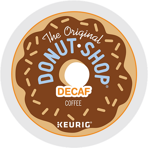 The Original Donut Shop® Decaf Coffee - K-Cup® - Decaf - Med Roast - 24ct