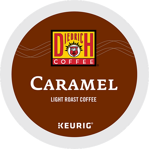 Diedrich Caramel Coffee - K-Cup® - Regular - LT Roast - 24ct