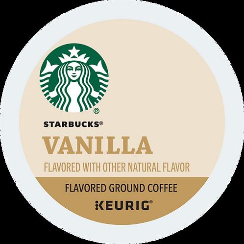 Starbucks® Vanilla Coffee - K-Cup® - Regular - LT Roast - 16ct