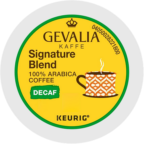 Gevalia Kaffe® Signature Blend Decaf Coffee - K-Cup® - Decaf - LT Roast - 24ct