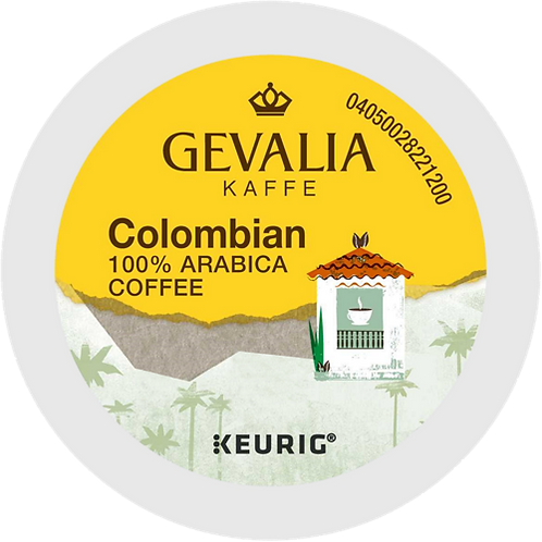 Gevalia Kaffe® Colombian Coffee - K-Cup® - Regular - Med Roast - 24ct