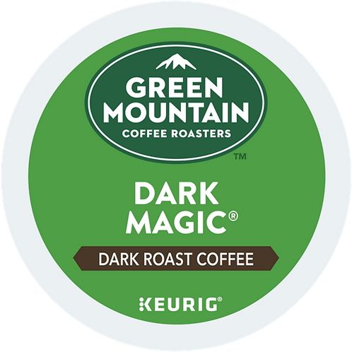 Green Mountain® Dark Magic® Coffee - K-Cup® - Regular - Dark Roast - 6ct