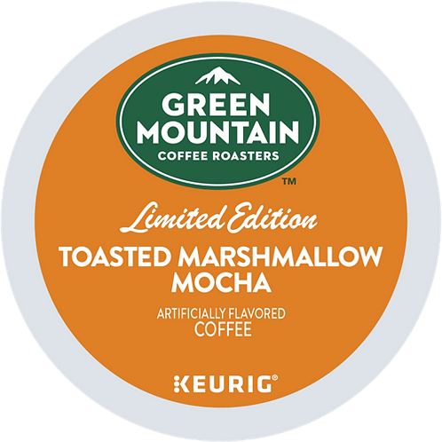 Green Mountain Toasted Marshmallow Mocha Coffee - KCup® - LT Roast - 24ct
