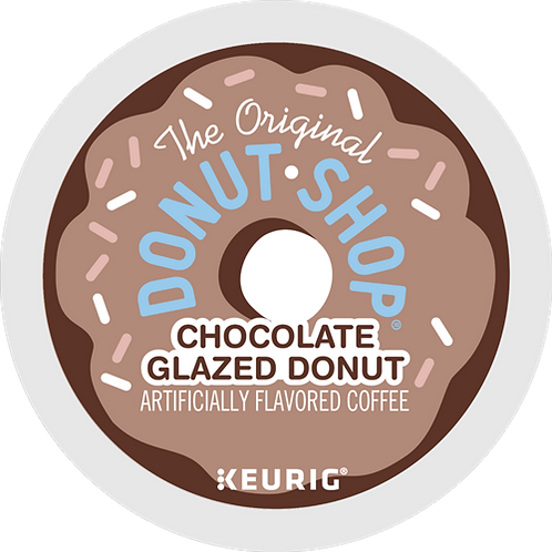 Donut Shop® Chocolate Glazed Donut Coffee - K-Cup® - Regular - 24ct