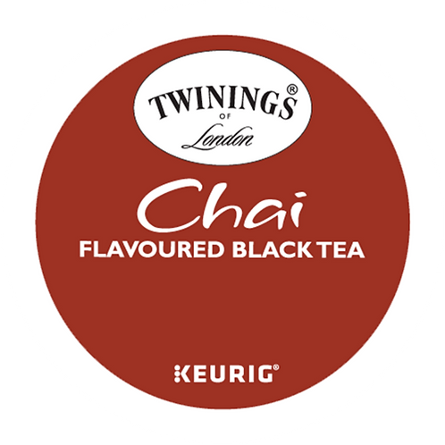 Twinings® Chai Black Tea - K-Cup® - Regular - Chai - 24ct