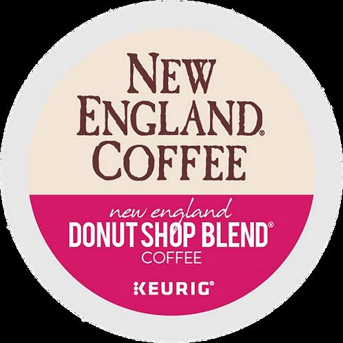 New England Donut Shop Blend Coffee - KCup® - Regular - LT Roast - 24ct