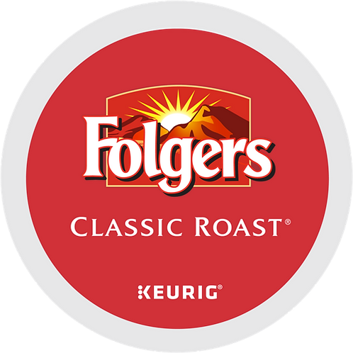 Folgers® Classic Roast® Coffee - K-Cup® - Regular - Med Roast - 24ct