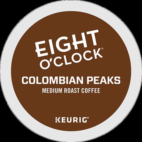 Eight O'Clock® Colombian Peaks Coffee - K-Cup® - Regular - Med Roast - 24ct