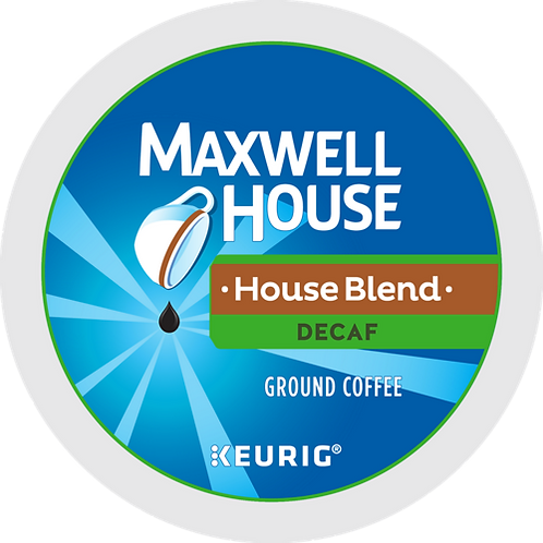 Maxwell House® House Blend Decaf Coffee - K-Cup® - Decaf - Coffee - 24ct