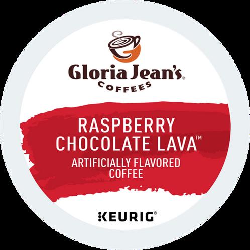 Gloria Jean Raspberry Chocolate Lava Coffee - KCup® - Regular - Med Roast - 6ct