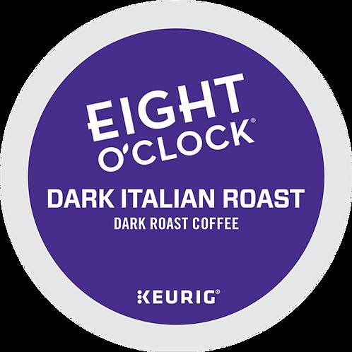 Eight O'Clock® Dark Italian Roast Coffee - K-Cup® - Regular - Dark Roast - 24ct