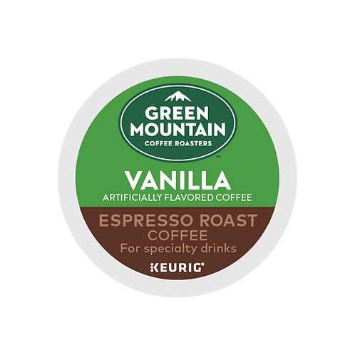 Green Mountain® Vanilla Espresso Roast Coffee - K-Cup® - Regular - 6ct