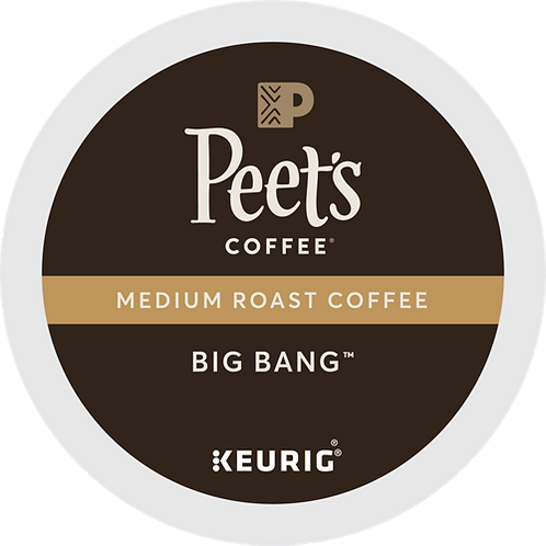 Peet's® Big Bang™ Coffee - K-Cup® - Regular - 22ct
