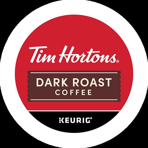 Tim Hortons® Dark Roast Coffee - K-Cup® - Regular - K-Cup - 24ct