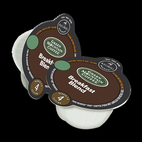 Green Mountain® Breakfast Blend Coffee - Vue® - Regular - LT Roast - 16ct