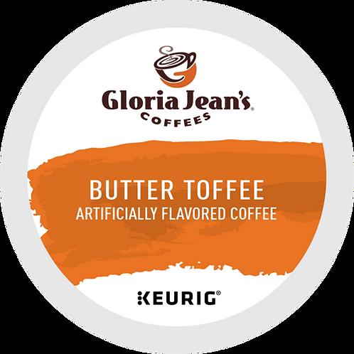Gloria Jean's® Butter Toffee Coffee - K-Cup® - Regular - Med Roast - 24ct