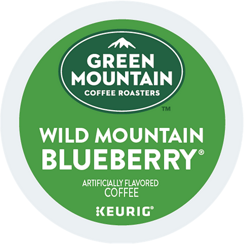 GreenMountain Wild Mountain Blueberry Coffee - KCup® - Regular - LT Roast - 24ct