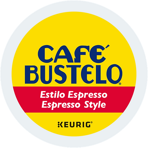 Café Bustelo® Espresso Style Coffee - K-Cup® - Regular - Dark Roast - 24ct