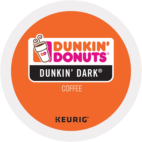 Dunkin' Donuts® Dunkin' Dark® Coffee - K-Cup® - Regular - Dark Roast - 24ct