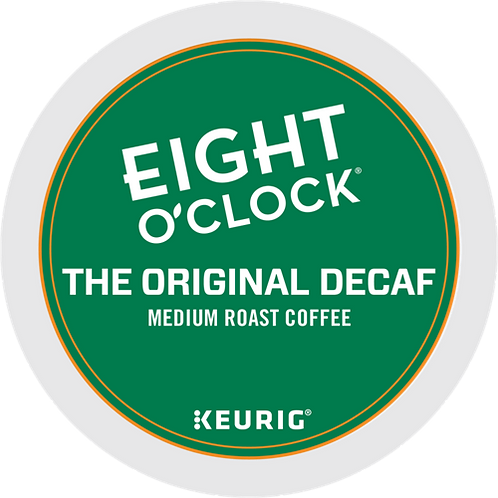 Eight O'Clock® The Original Decaf - K-Cup® - Decaf - Med Roast - 24ct