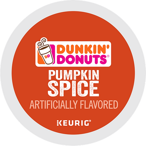 Dunkin' Donuts® Pumpkin Spice Coffee - K-Cup® - Regular - Med Roast - 24ct