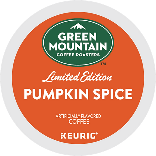 Green Mountain® Pumpkin Spice Coffee - K-Cup® - Regular - LT Roast - 24ct