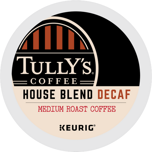 Tully's® House Blend Decaf Extra Bold Coffee - K-Cup® - Decaf - Coffee - 24ct
