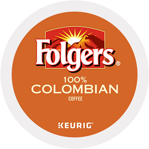 Folgers® 100% Colombian Coffee - K-Cup® - Regular - K-Cup - 24ct