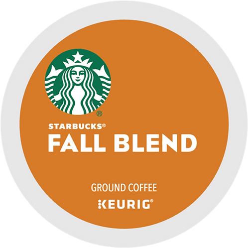 Starbucks® Fall Blend Coffee - K-Cup® - Regular - Med Roast - 16ct
