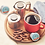 Thumbnail: Caribou® Obsidian® Coffee - K-Cup® - Regular - Dark Roast - 18ct