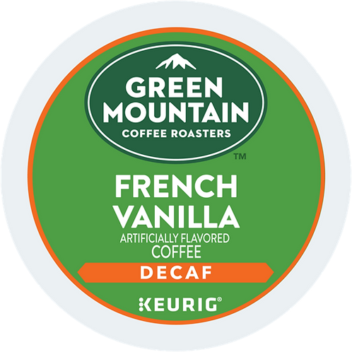Green Mountain® French Vanilla Decaf Coffee - K-Cup® - Decaf - LT Roast - 24ct
