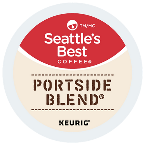 Seattle's Best® Portside Blend® Coffee - K-Cup® - Regular - 18ct
