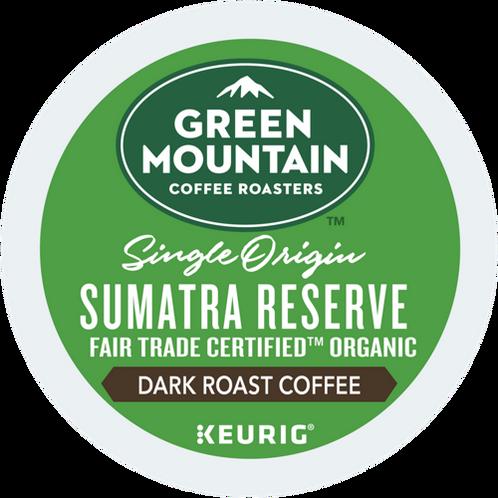 Green Mountain® Sumatra Reserve Coffee - K-Cup® - Regular - Dark Roast - 6ct