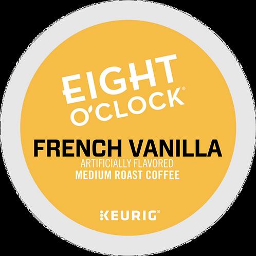 Eight O'Clock® French Vanilla Coffee - K-Cup® - Regular - Med Roast - 18ct