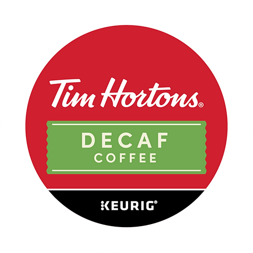 Tim Hortons® Decaf Coffee - K-Cup® - Decaf - Coffee - 24ct