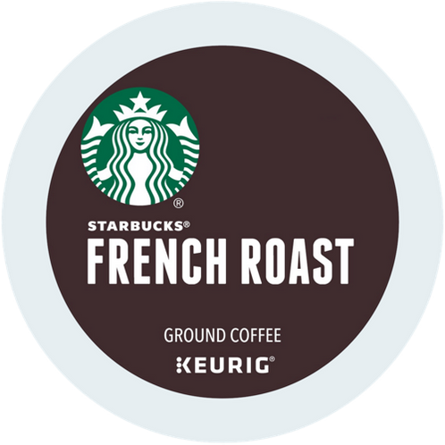 Starbucks® French Roast Coffee - K-Cup® - Regular - Dark Roast - 6ct