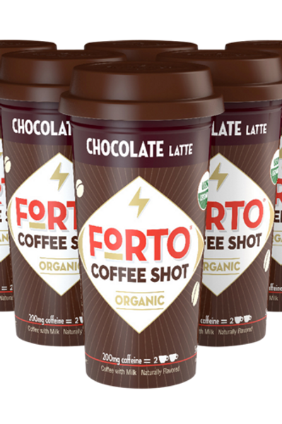 FORTO® Chocolate Latte Coffee Shot - Coffee Shots - Regular - 6ct